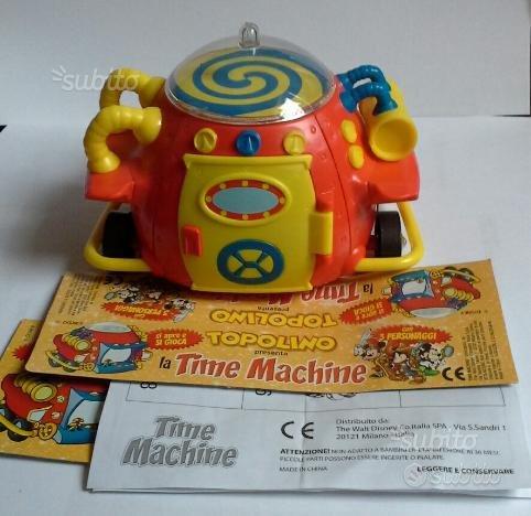 La Time Machine gadget Topolino anno 2007