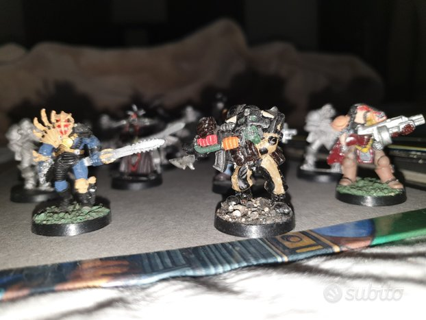 20 miniature Mutant Chronicles in scala 28mm