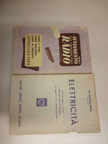 Libri radio radioamatore elettricita e altro