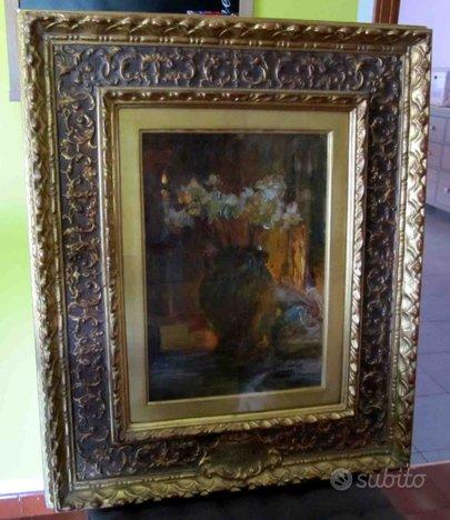 Quadro del pittore Vittorio Cavalleri (1860-1938)