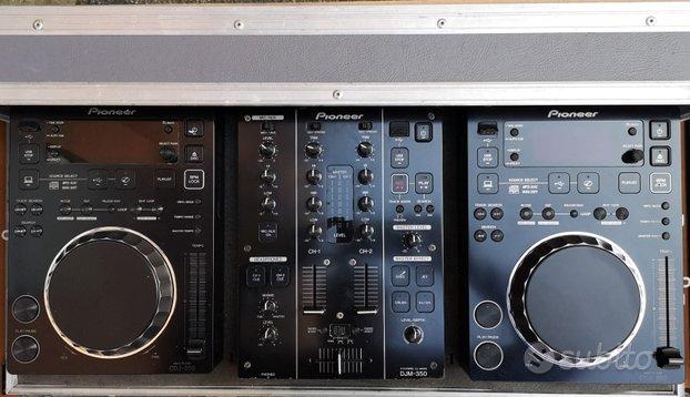 Consolle Completa DJ PIONEER 350 + Flightcase