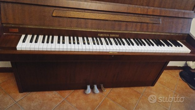 Pianoforte verticale farfisa furstein