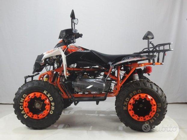 Nuovo quad 200 r10 racing pro con portapacchi