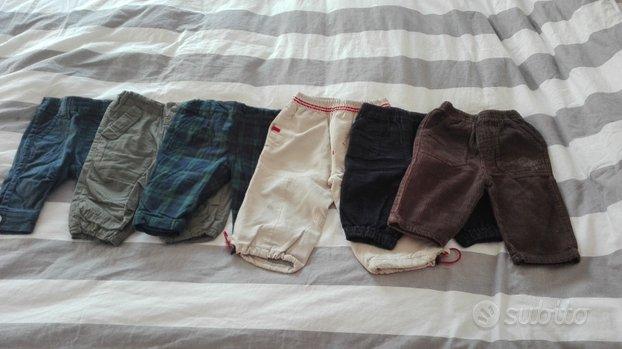 Pantaloni bimbo 3-6 mesi autunno inverno