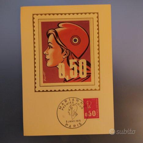 Cartolina filatelica 1971