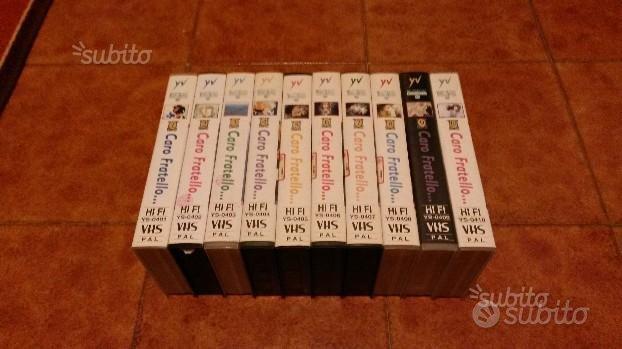 Caro Fratello - Serie completa VHS
