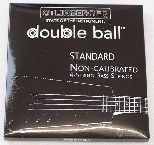 Steinberger DOUBLE BALL HEADLESS BASS CORDE 45-105