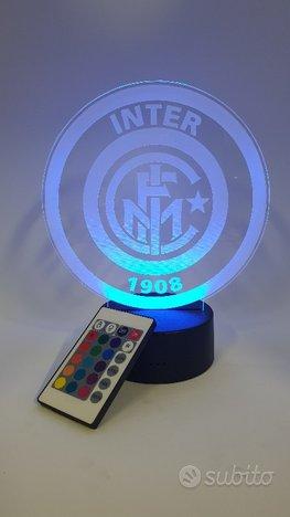 Lampada batterie lampada 3d Inter