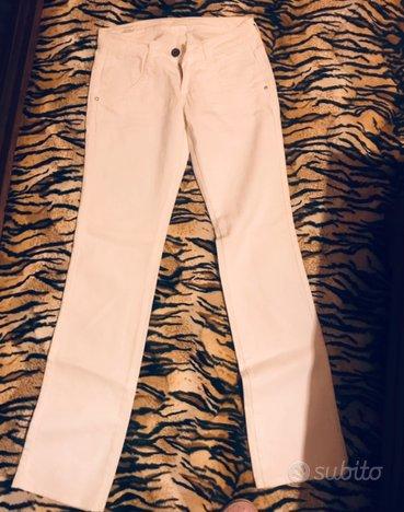 Jeans bianchi kocca nuovi mai indossati