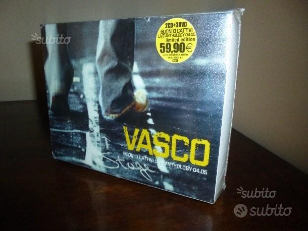 Vasco Rossi Buoni O Cattivi Live Antology 2cd 3dvd