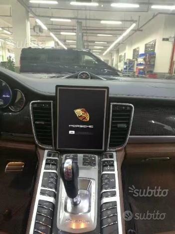 Navigatore porsche panamera tesla 10 wifi carplay