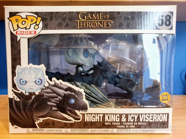Funko pop night king e icy viserion
