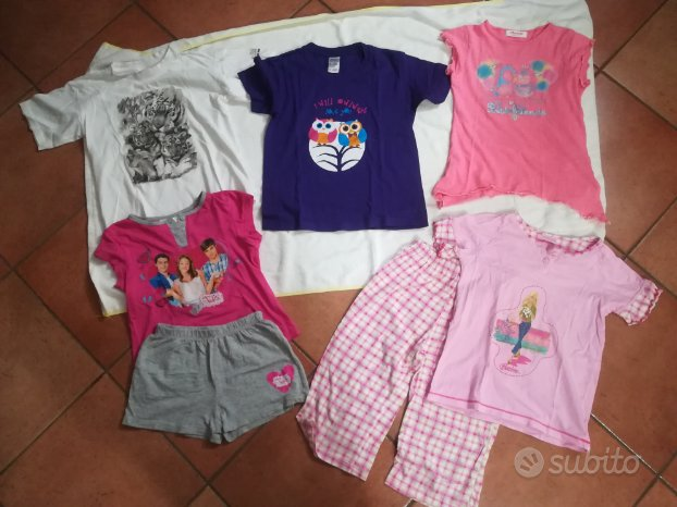Abbigliamento estivo bimba 7-8-10 anni