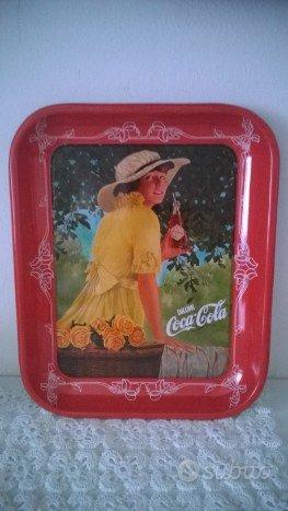 Vassoio Coca Cola 50° anniversario Serie Numerata