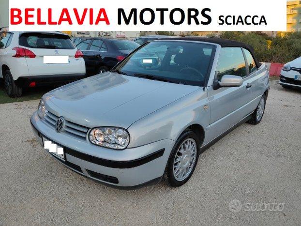 Volkswagen Golf Cabriolet 1.6 101CV GPL FINO AL