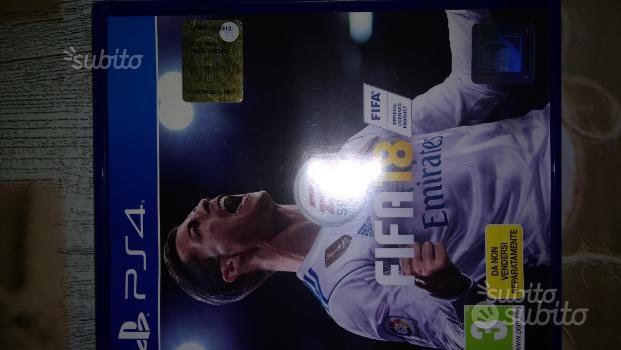 Gioco FIFA 18 per PlayStation 4