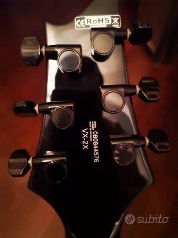 Chitarra elettrica Cort VX2X   custodia