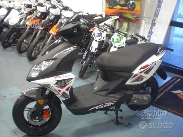 Nuovo scooter 50 keeway fact evo grafiche n - 2019