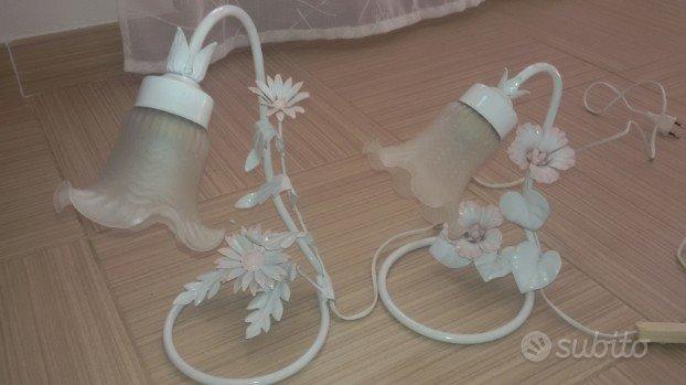 coppia lampade abat jour