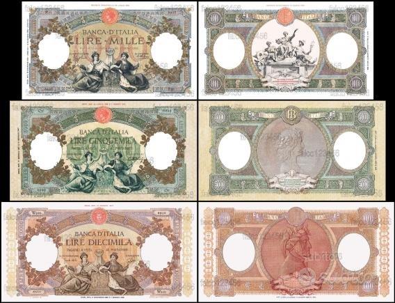 Banconote repubbliche marinare storia della lira