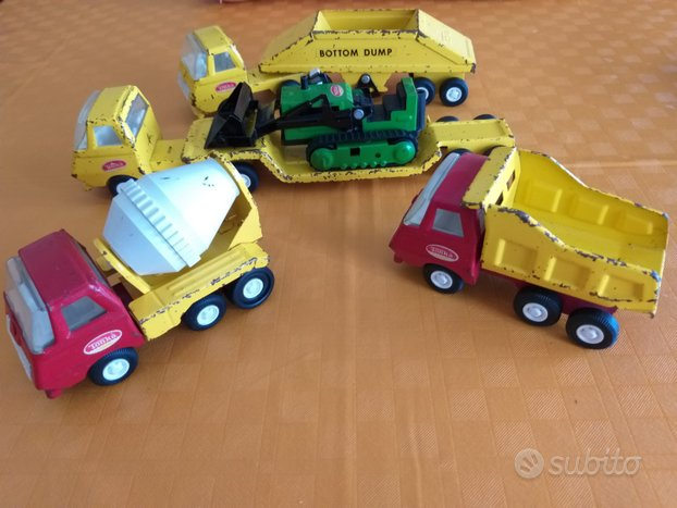 Tonka n°5 camion/trattore vintage anni 70