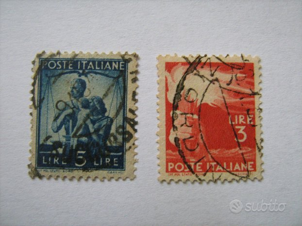 Francobolli poste italiane