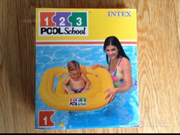 Salvagente mutandina quadrato - Intex Pool School