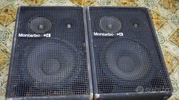 Impianto audio montarbo mixer Behringer