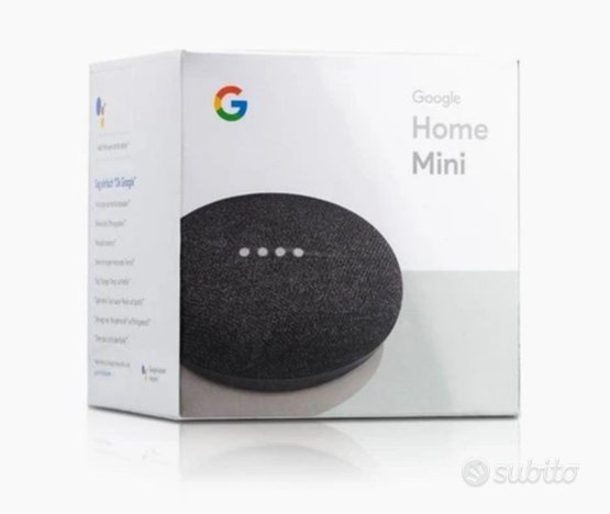 Google home mini + supporto da tavolo