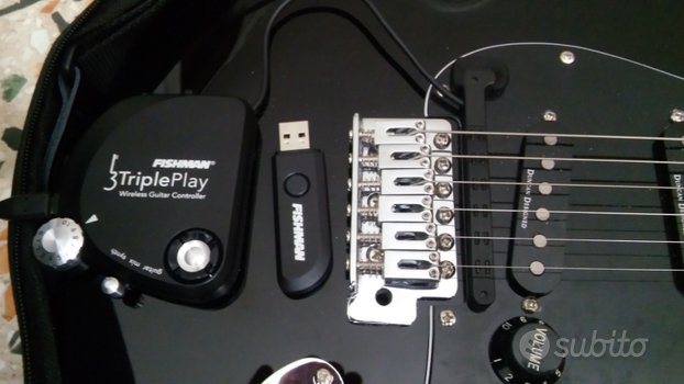 MIDI Controller TriplePlay Wireless MIDI Guitar