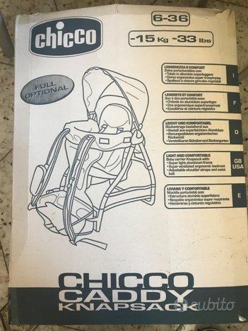 Chicco caddy knapsack