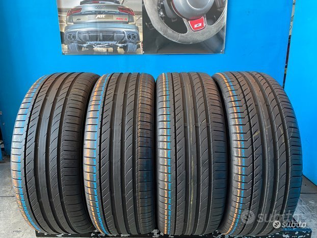 4 Gomme 235/45 R19 - 95V Continental estive 85%res