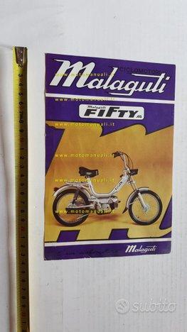Malaguti Fifty 50 AS anni 70 depliant originale