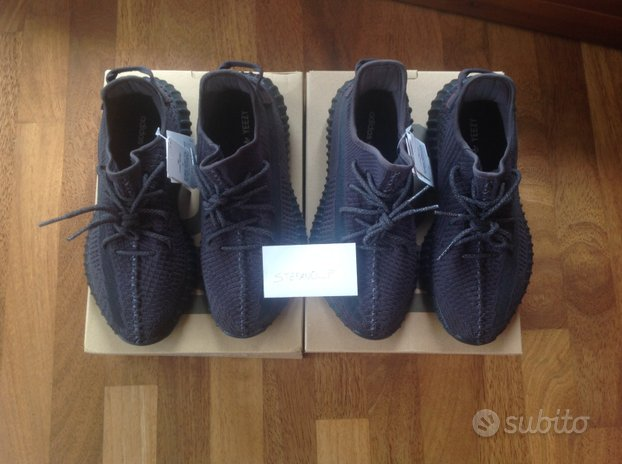 Yeezy boost 350 v2 Black NON reflective - 44 DS