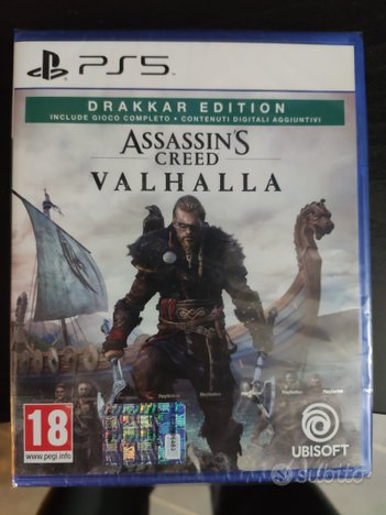 Assassin's creed valhalla ps5, Nuovo