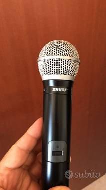 Radiomicrofono Shure PG58