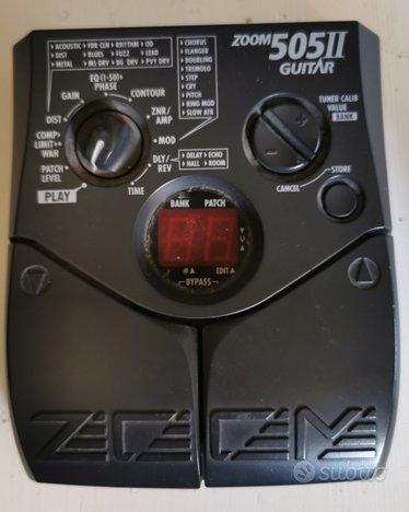 Pedaliera Zoom 505 per chitarra elettrica