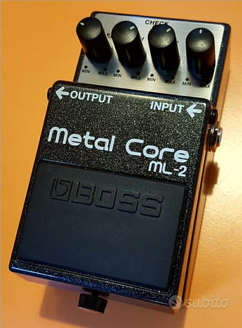 Pedale Distorsore BOSS ML-2 Metal Core