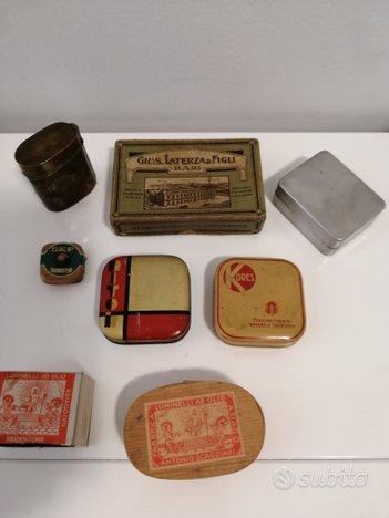 Antiche scatole anni 40 60 pezzi8