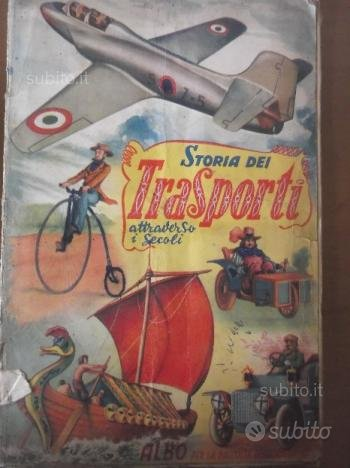 Album figurine anni '50 STORIA DEI TRASPORTI