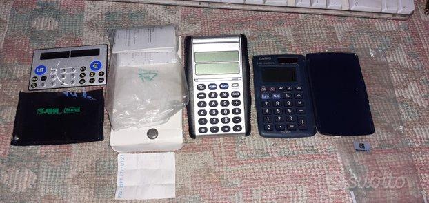 Calcolatrici tascabili con convertitore lire-euro