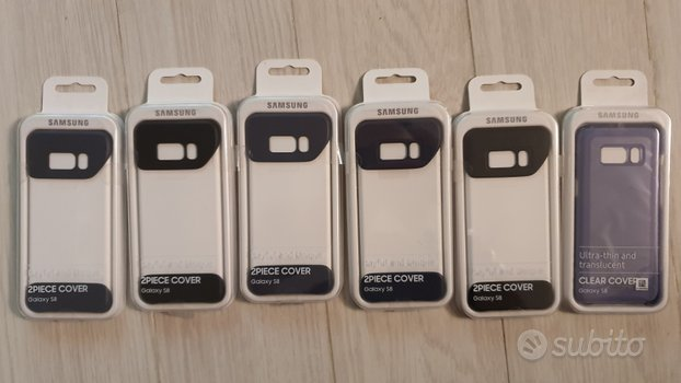 Cover custodia case flip samsung s8 originale