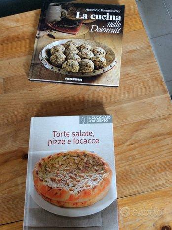 Libro sulla cucina delle Dolomiti e torte salate