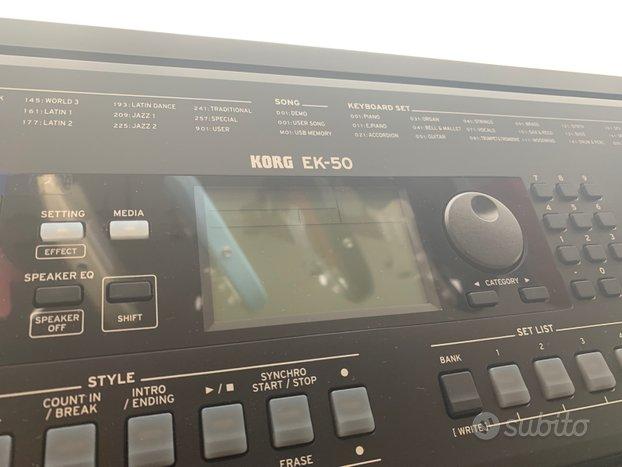 Tastiera Korg EK50 ( Nuova)