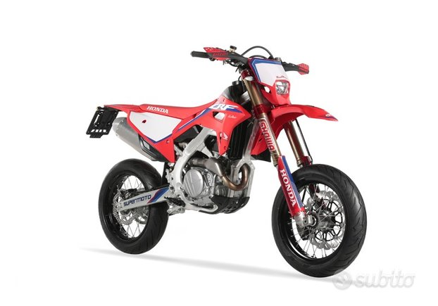 Honda Ufficiale Red Moto CRF 450RX Supermoto 2021