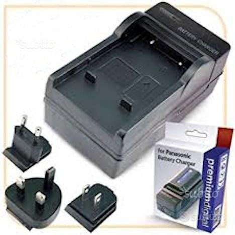Caricatore per Batterie Panasonic LUMIX
