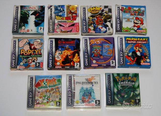 Giochi Gameboy boxati
