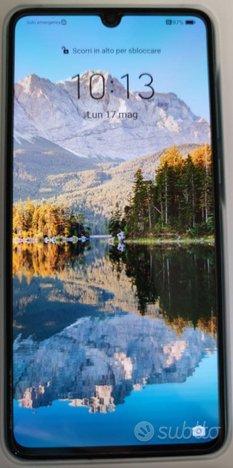 Huawei p30 6/128 aurora blue dual sim + sd