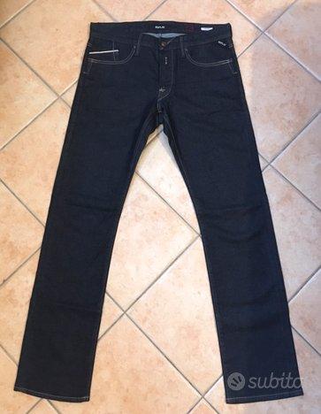 Replay Jeans neri W33 L34 originali NUOVI