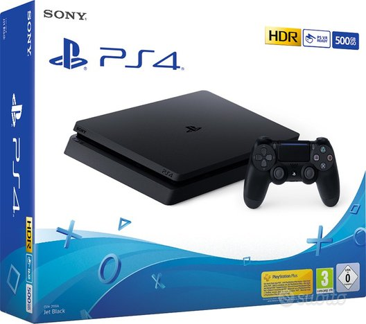 Ps4 500gb f chassis slim hdr black